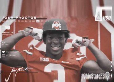Josh Proctor Ohio State Football Buckeyes
