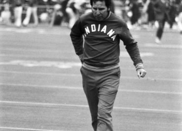 Lee Corso 1976 Ohio State scoreboard picture
