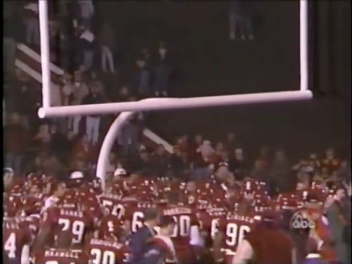 Indiana Ohio State 1996 Goal Posts