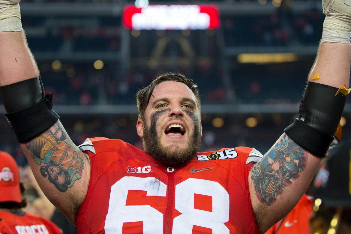 Taylor Decker Ohio State 2014 national Championship