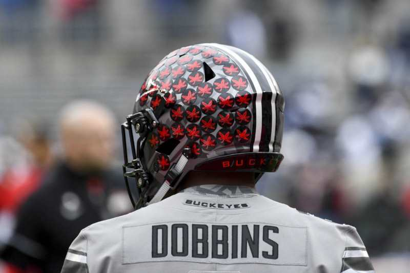 J.K. Dobbins Ohio State Football Buckeyes
