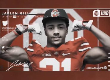Jaelen Gill Ohio State Football Buckeyes