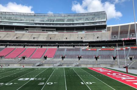 Ohio State football Ohio Stadium Horseshoe Construction Renovation
