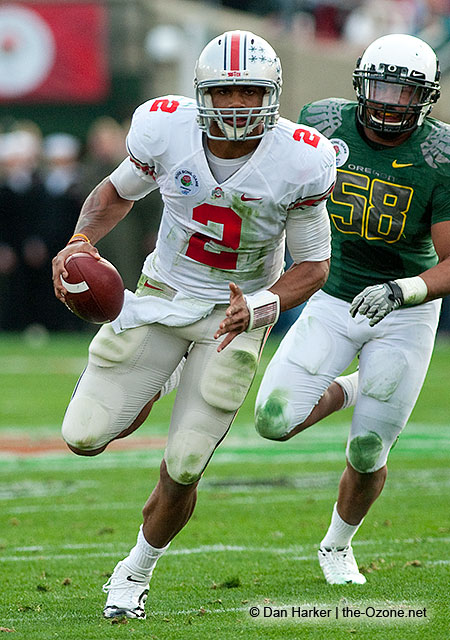 Ohio State Football Rose Bowl Terrelle Pryor