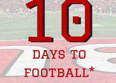 10 Days to Ohio State Football Buckeyes
