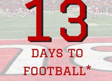 13 Days to Ohio State Football Buckeyes