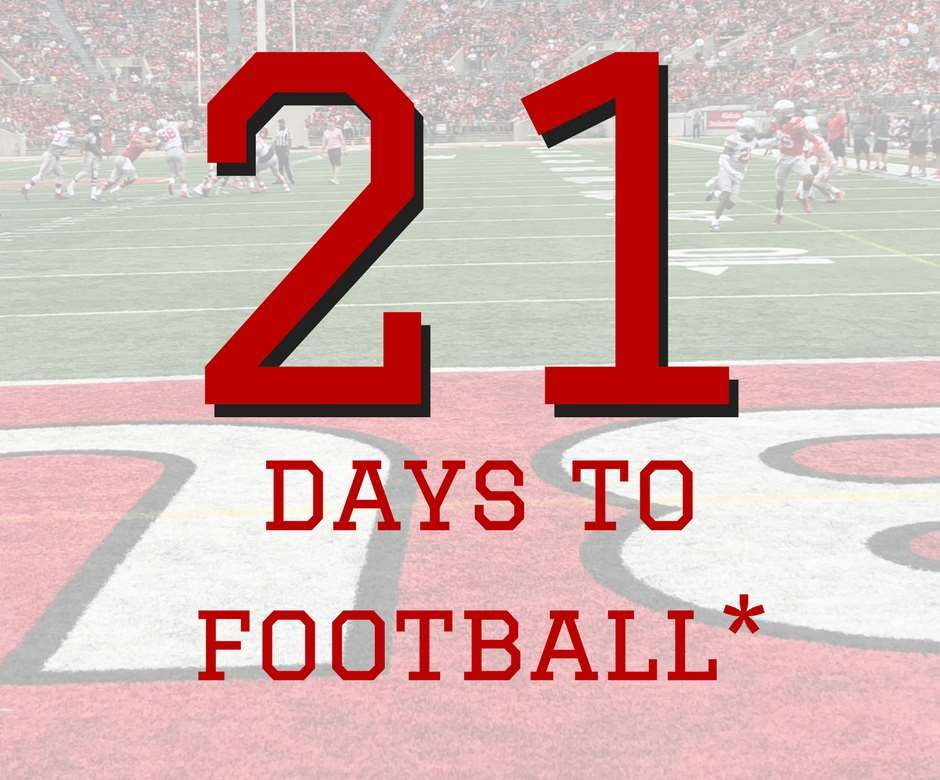 21 Days to Ohio State Football Buckeyes