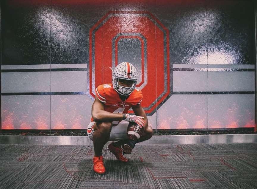 Elijah Higgins Ohio State Recruiting Buckeyes