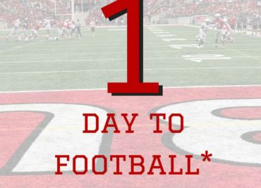 One Day to Ohio State Football Buckeyes