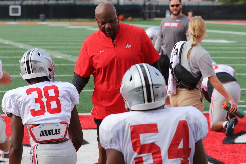Larry Johnson Ohio State Defensive Line Buckeyes