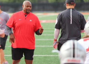 Ohio State football Larry Johnson Practice