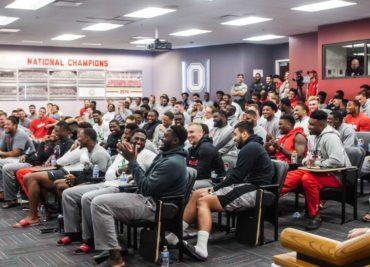 Ohio State Football Buckeyes Team Meeting Room