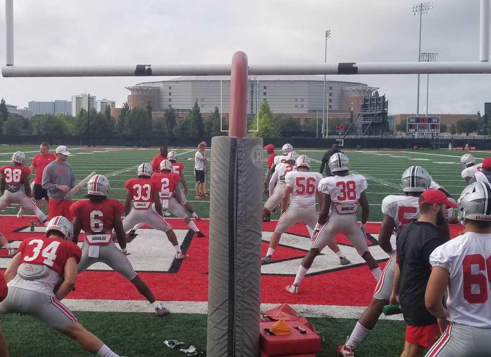 Ohio State Football Practice Buckeyes