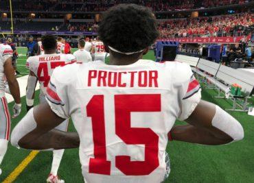 Ohio State Football safety Josh Proctor