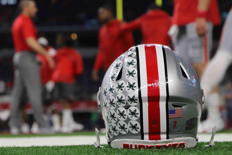 Dwayne Haskins helmet Ohio State Football Buckeyes