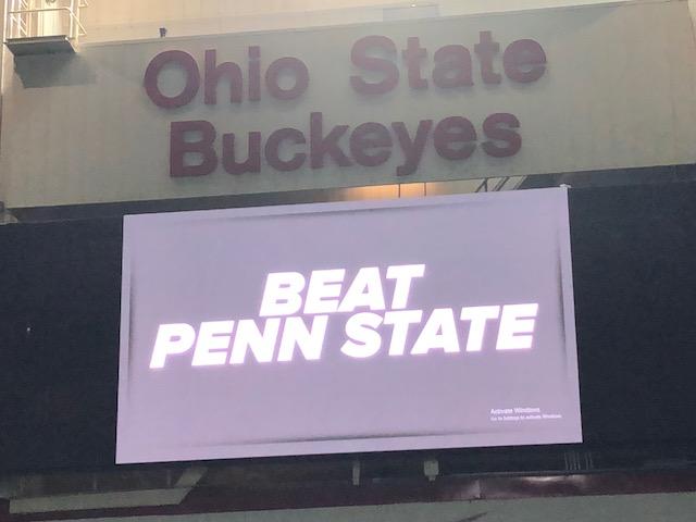 Ohio State football Beat Penn State