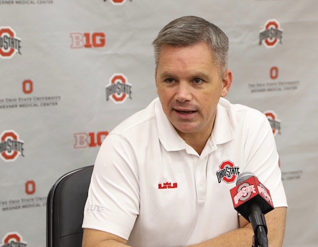 Ohio State basketball head coach Chris Holtmann