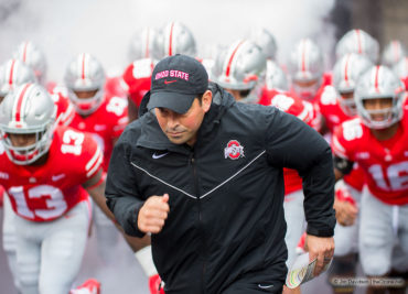 Ohio State acting head coach Ryan Day