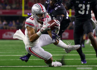 Ohio State football wide receiver Austin Mack
