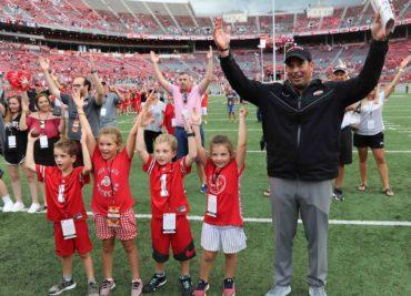 Ohio State head coach Ryan Day Carmen Ohio