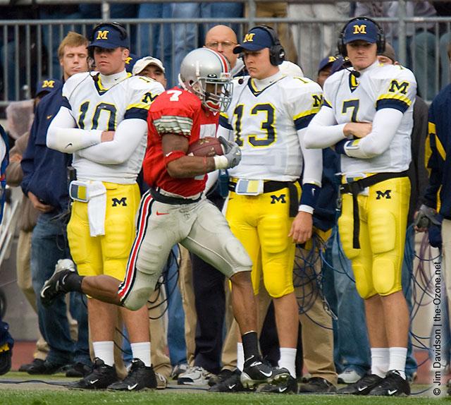 Ted Ginn Ohio State Michigan 2004 The Game football punt return touchdown