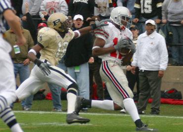 Ohio State football Holy Buckeye Michael Jenkins 2002 Purdue