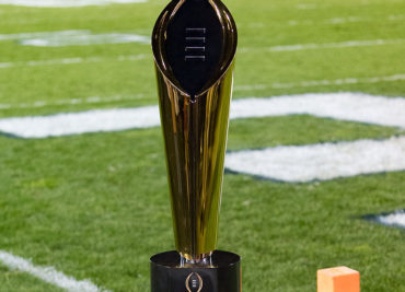 College Football Playoff Rankings Trophy