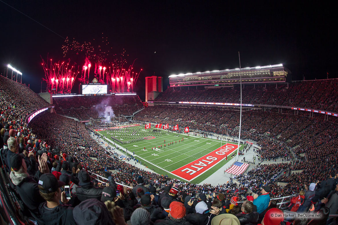 Ohio State football Ohio Stadium blackout