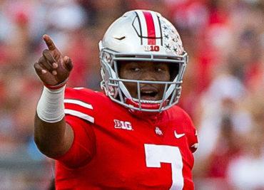 Ohio State football quarterback Dwayne Haskins Record