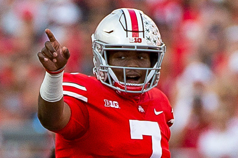 Ohio State football quarterback Dwayne Haskins Record