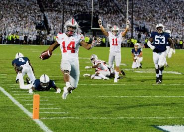 Ohio State wide receiver KJ Hill touchdown Penn State