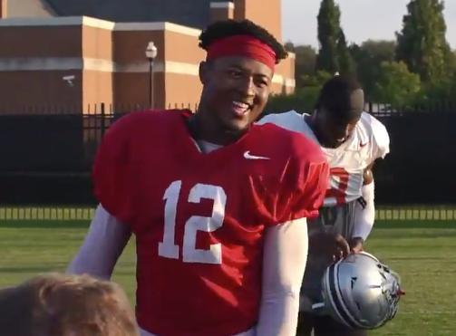 Ohio State football wide receiver Xavier Johnson