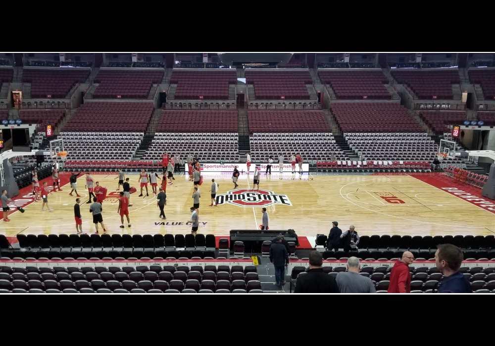 Ohio State Basketball Buckeyes Value City Floor