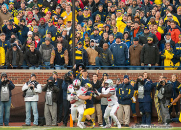Tyvis Powell Interception Ohio State Michigan 2013
