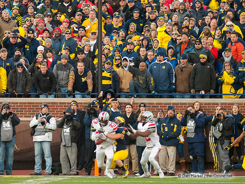 Tyvis Powell Interception Ohio State Michigan 2013
