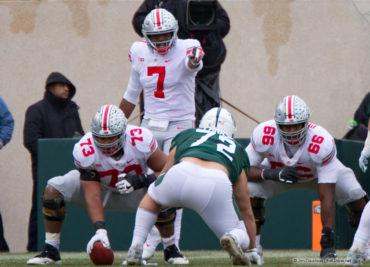 Ohio State football offensive line Michael Jordan Malcolm Pridgeon