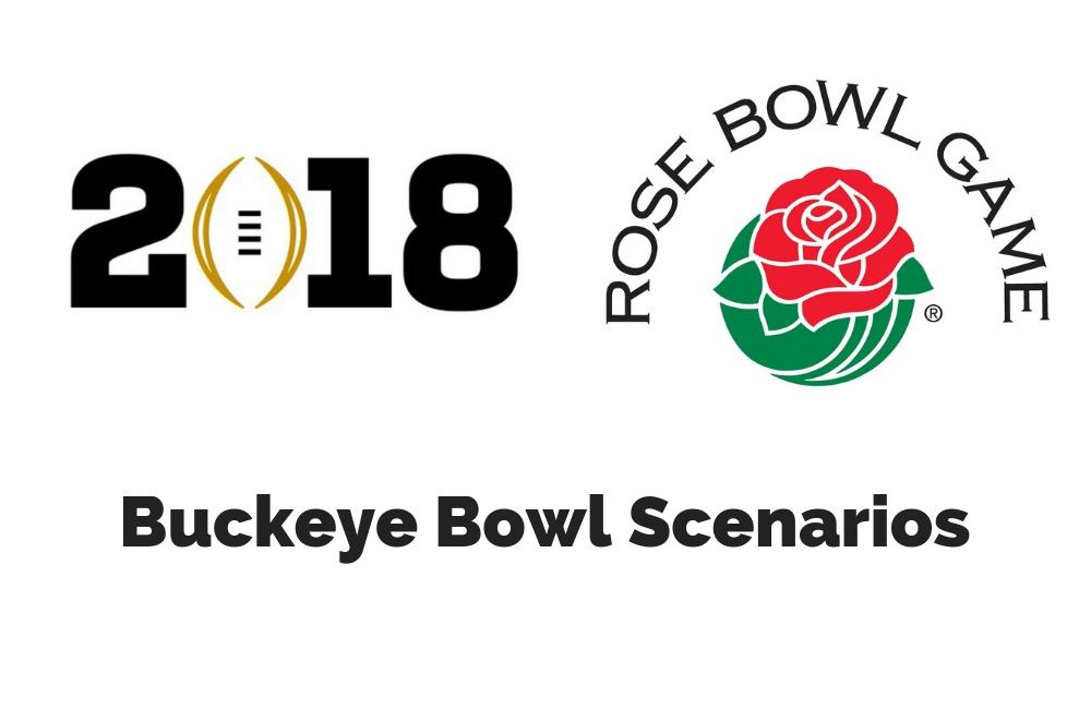 Ohio State football playoff Rose Bowl scenarios