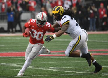 Demario McCall Michigan 2018 Ohio State football