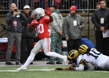 Ohio State football running back Demario McCall