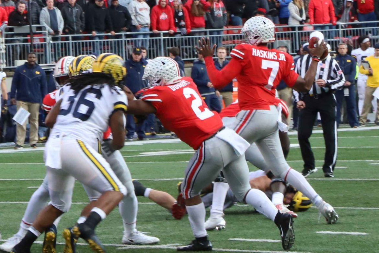 Dwayne Haskins Ohio State Football Buckeyes Michigan