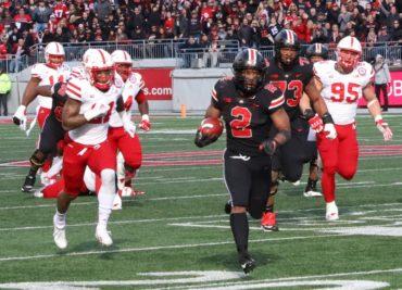 Ohio State football running back J.K. Dobbins
