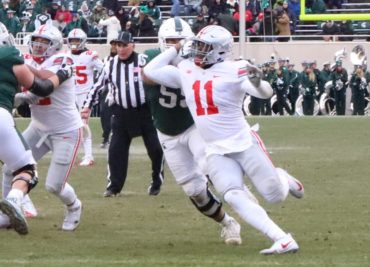 Ohio State football defensive end Tyreke Smith