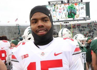 Ohio State football wide receiver Jaylen Harris