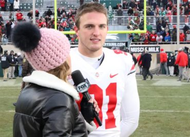 Ohio State football punter Drue Chrisman