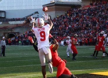 Binjimen Victor touchdown Maryland