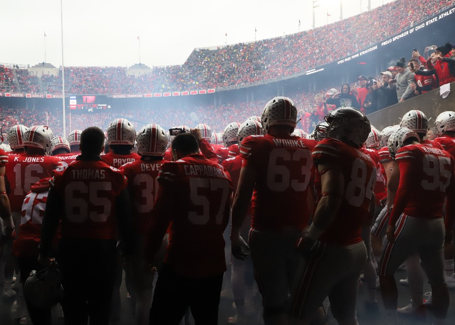 Ohio State football Ohio Stadium pregame tunnel