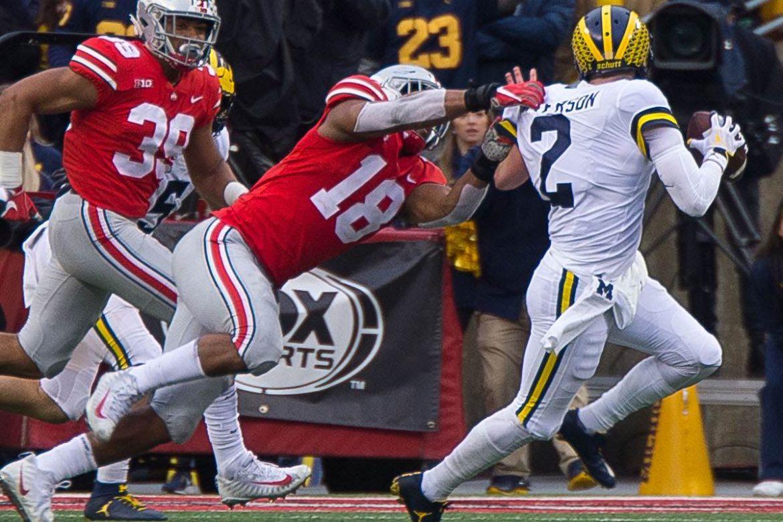 Ohio State Buckeyes football Jonathon Cooper Malik Harrison Michigan 2018