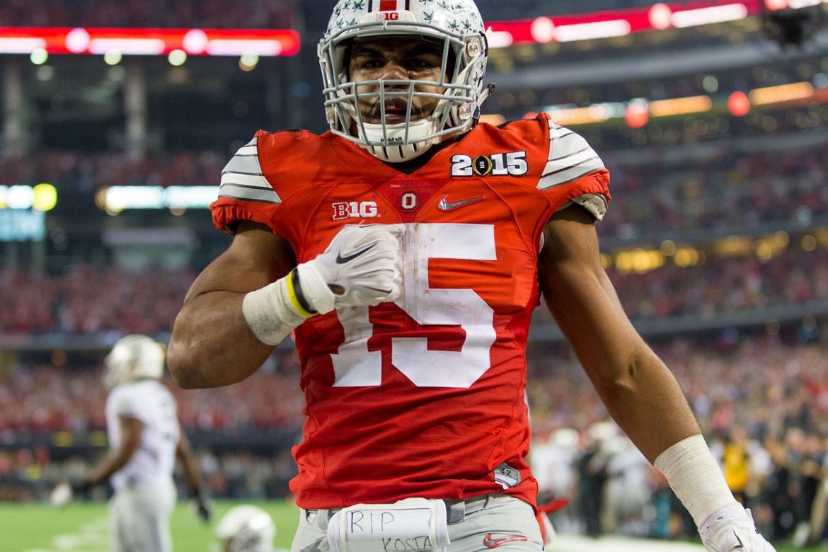 the best attitude 3359f 4a85e Report: Buckeyes Will Wear Throwback Uniforms For Michigan ...