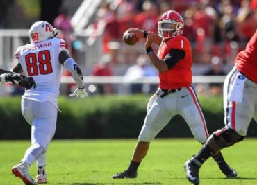 Justin Fields Georgia Quarterback