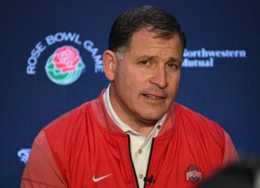 Ohio State defensive coordinator Greg Schiano